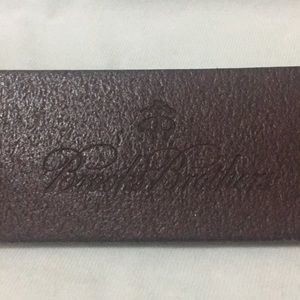Brooks Brothers Accessories - Brooks Brothers Brown Leather Belt